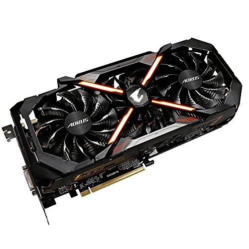 Nice Gigabyte Aorus Nvidia Geforce Gtx 1080 Ti 11g 11 Gb Gddr5x 352 Bit Memory Pci Express 3 Graphics Card Black Computer Hardware Laptop Computers Memories