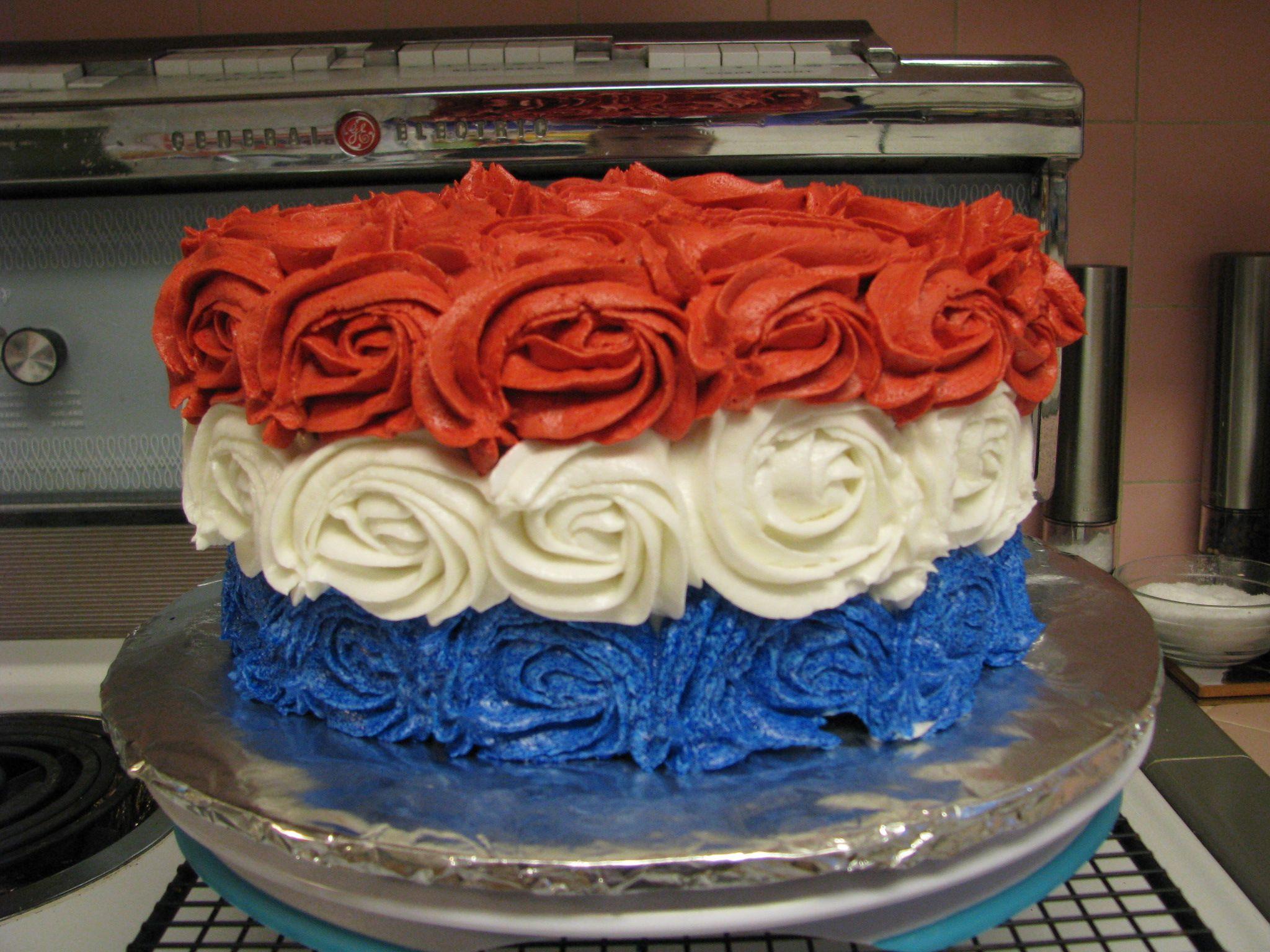 Fourth of July Cake   Cakes   Fourth of july cakes, Summer ...