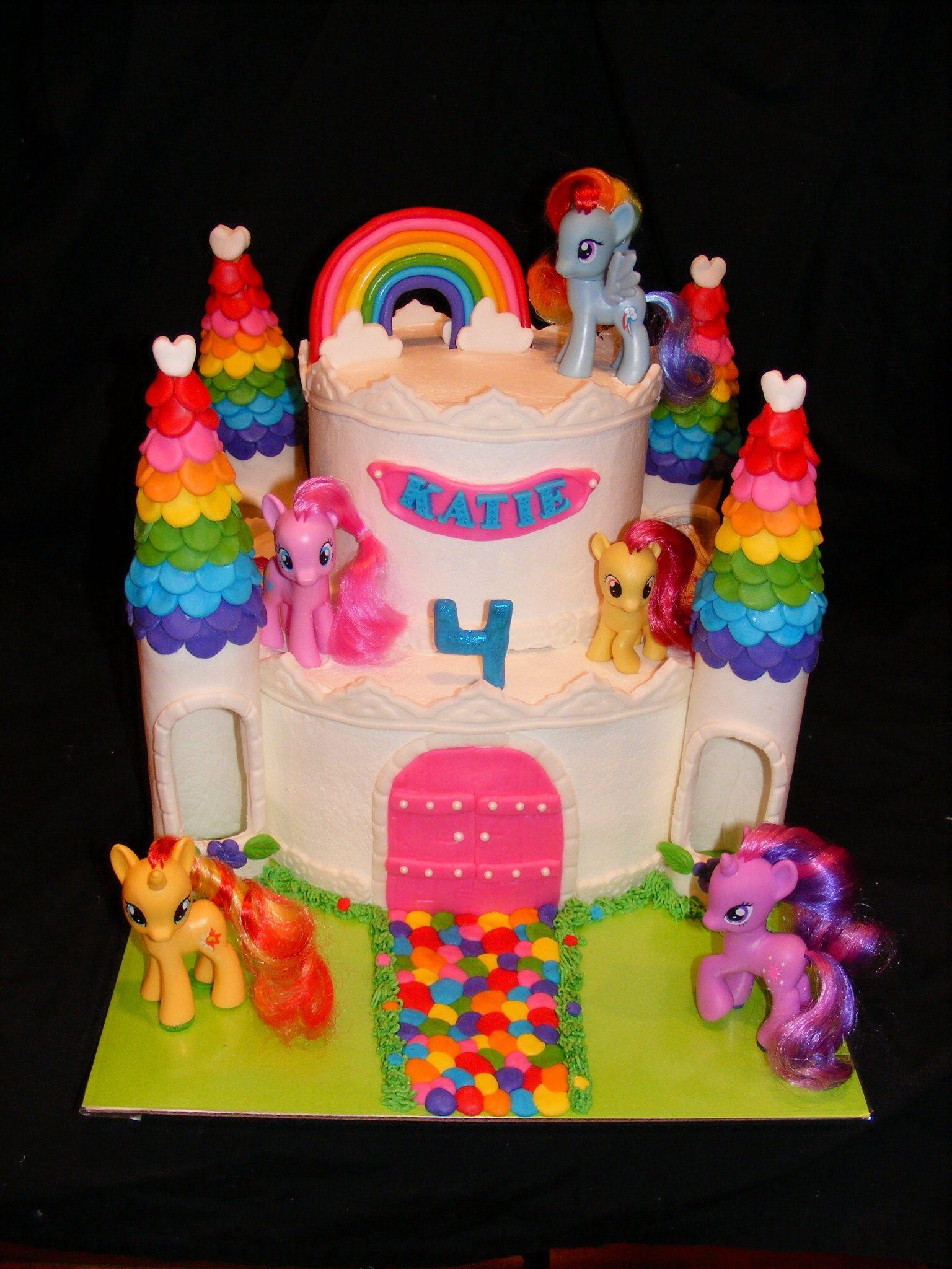 My little pony castle cake cake my little pony cake birthday party