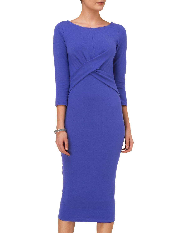 Dresses   Blue Mandy Midi Dress   Phase Eight   wedding   Pinterest ...
