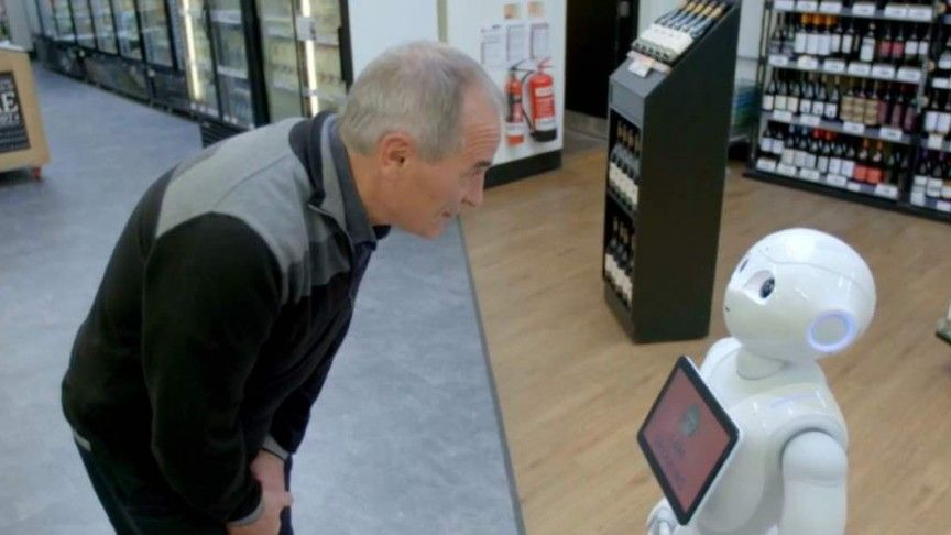 Robot gets fired from supermarket job for scaring