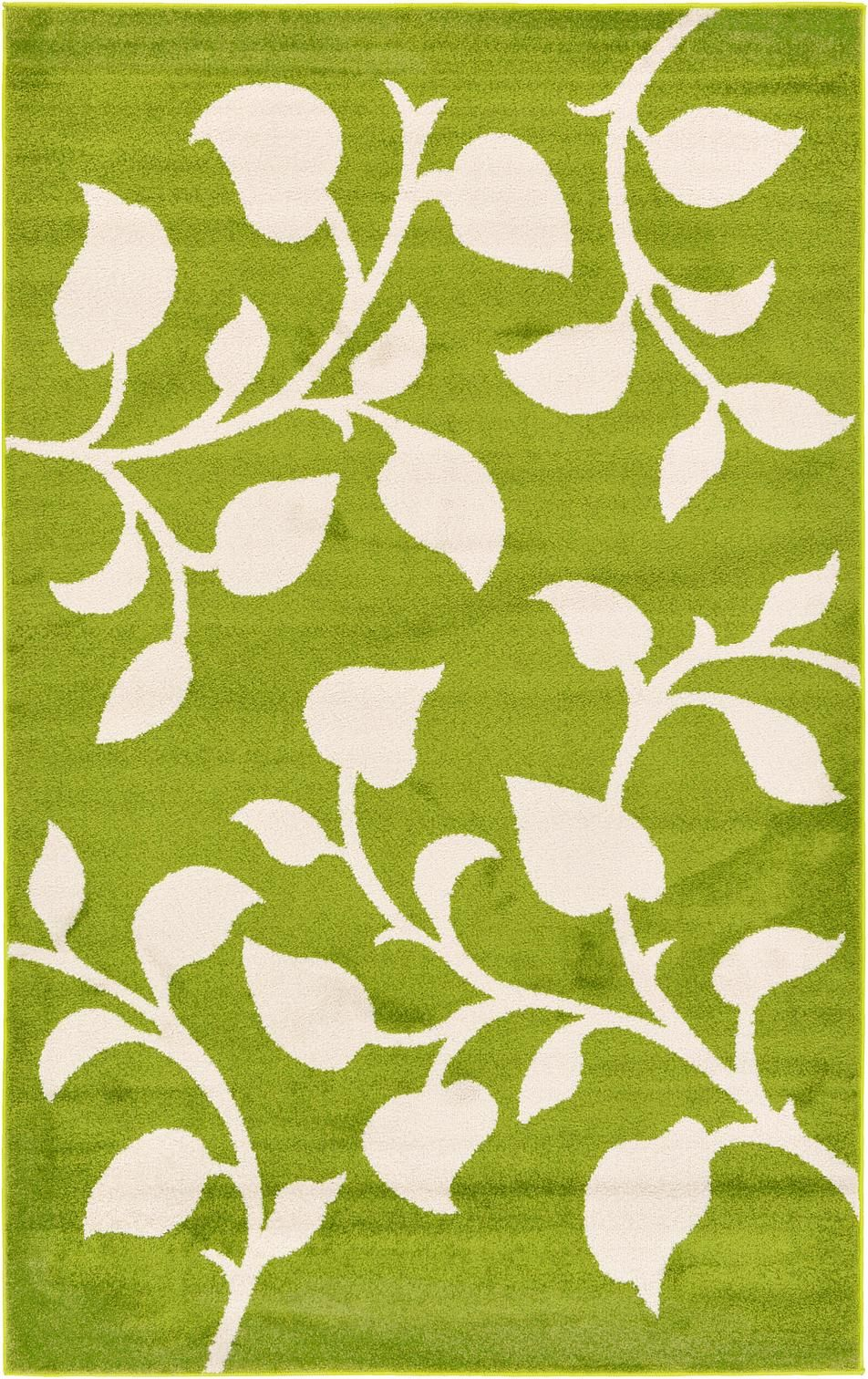 Green 155cm x 245cm frieze rug area rugs rugsca