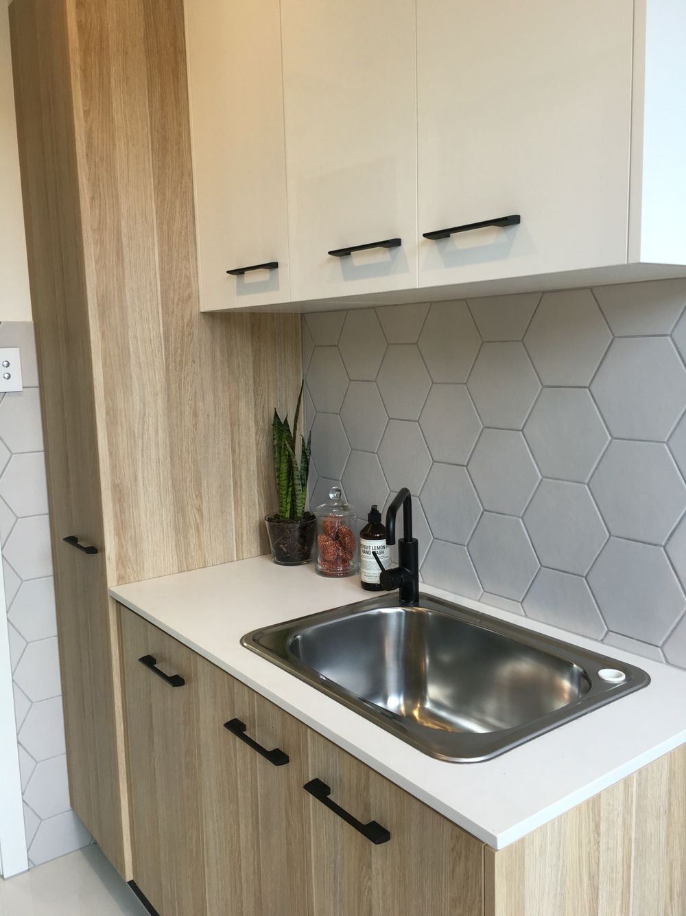Brisbane laundry renovations laundry design ideas ine bathrooms - Nice And Simple For A Small Laundry Idea