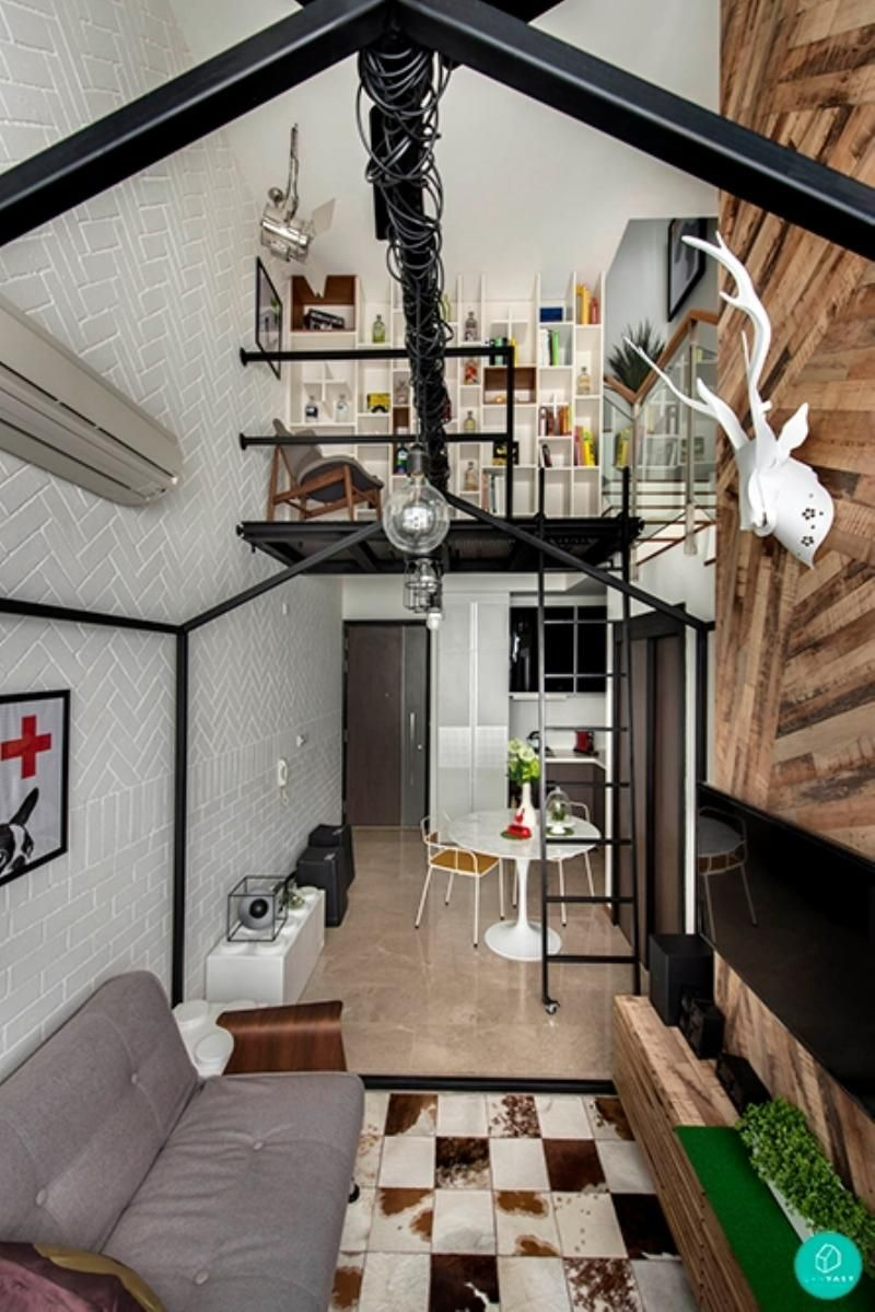 10 Amazing Loft Apartments In Singapore Loft House Design Loft Interior Design Small Loft Spaces