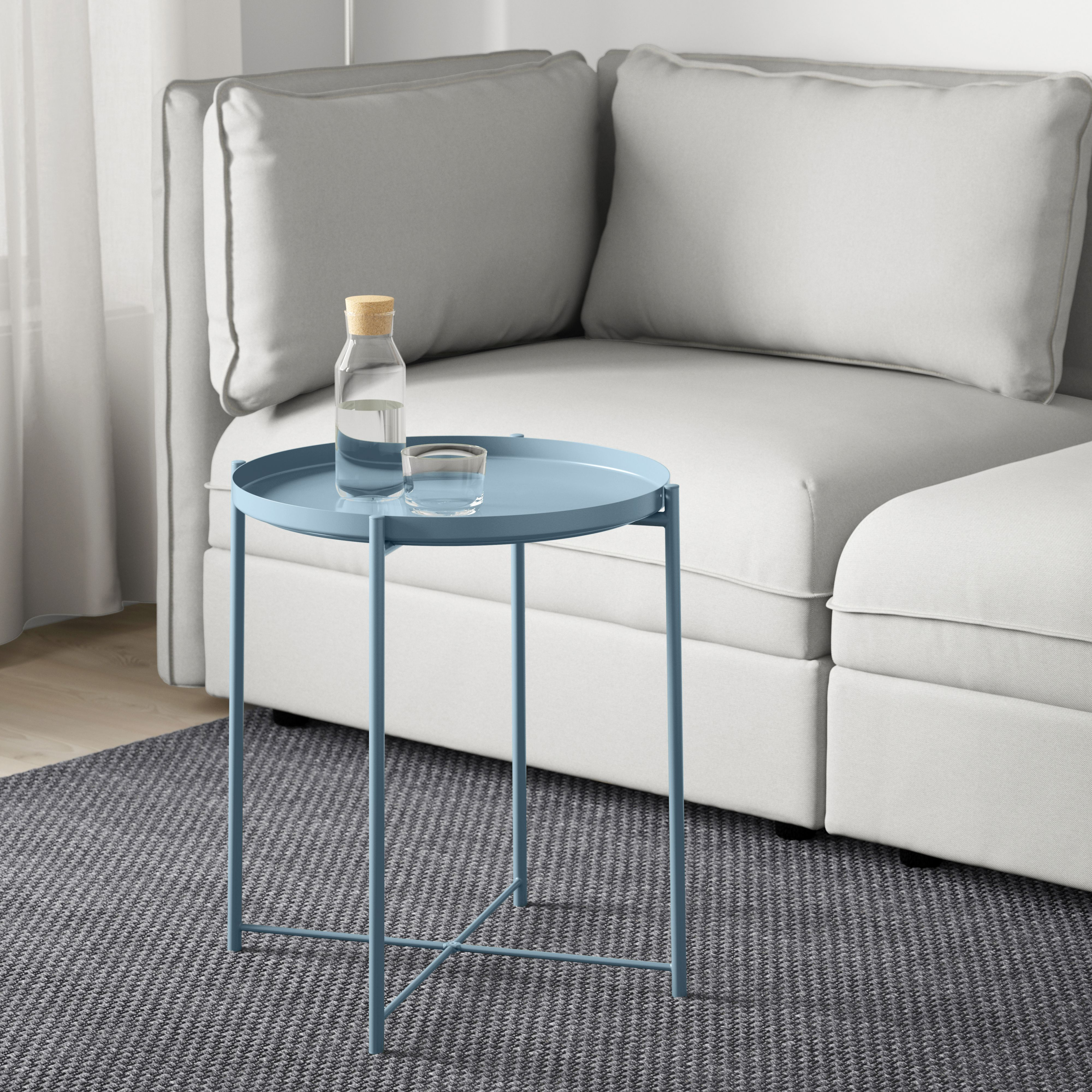 Gladom Tray Table Blue Debbies Space For Dreams Space Ikea