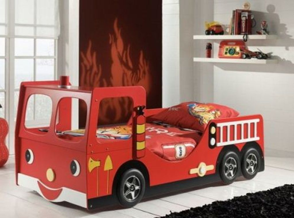 Sketch Of Fun Bedroom Ideas For Toddlers With Car Beds Which Will Impress  Your Kids