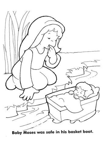 Moses Coloring Pages Coloring Pages Sunday School Coloring