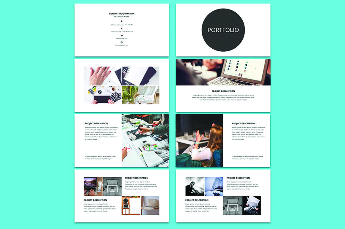 Free resume powerpoint template free presentations