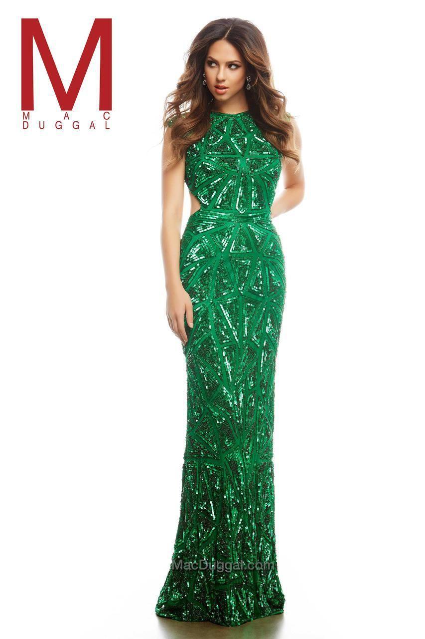 Cassandra Stone - 4241 A Emerald Green | Mardi Gras Themed Prom ...