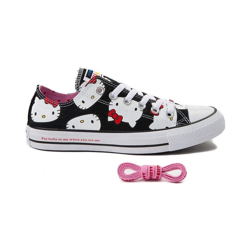 6f2a9cdc7c21 Converse Chuck Taylor All Star Lo Hello Kitty® Sneaker - Black - 399617