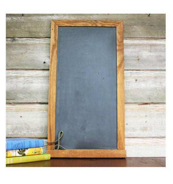 Vintage Chalkboard -- Wood Framed, Two-Sided   Chalkboards, Framed ...