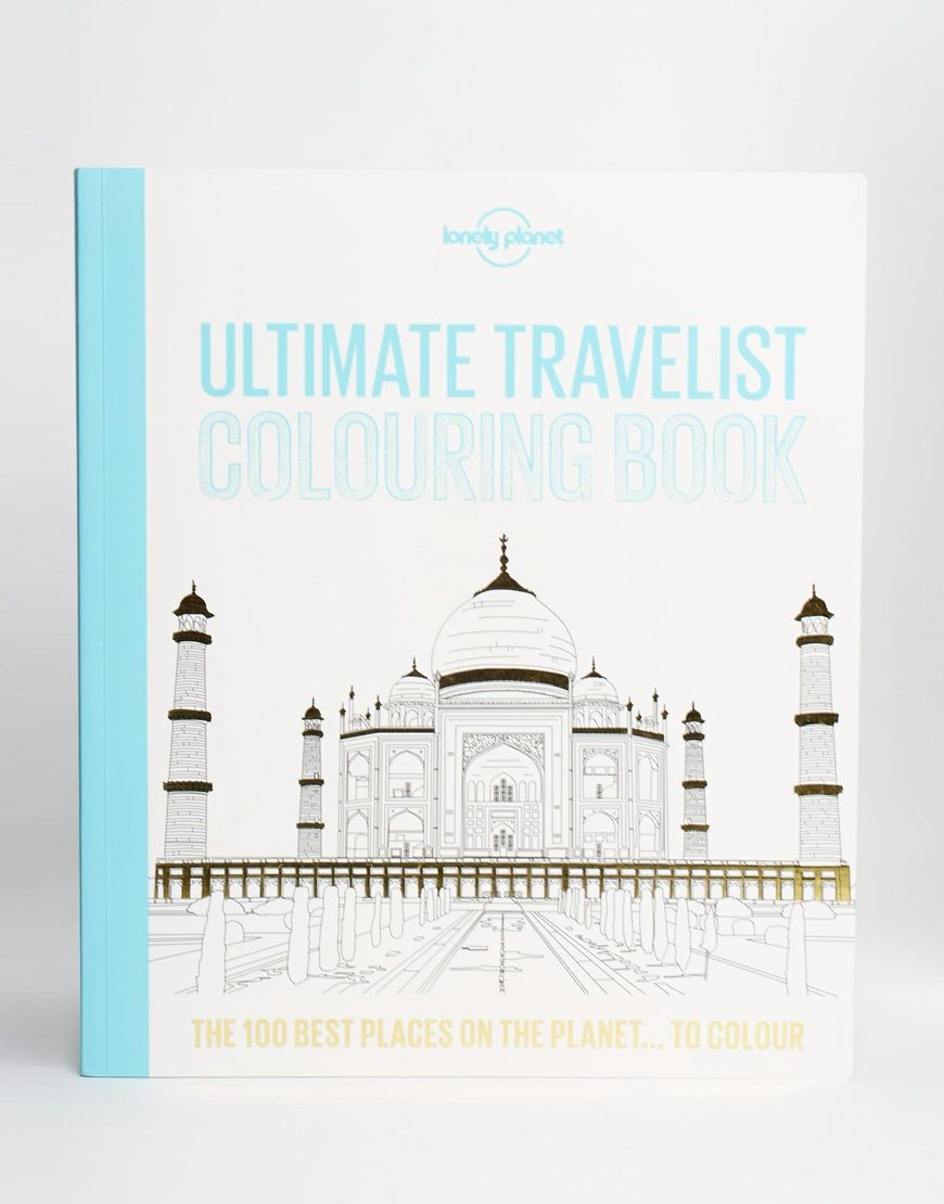 Lonely Planet Ultimate Travelist Colouring Book | ASOS