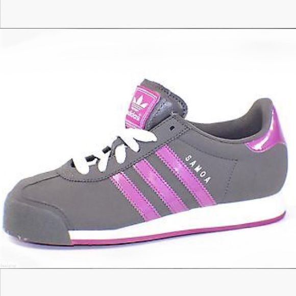 ✨HP✨ // A d i d a s • S n e a k e r s • S z 7 // Adidas woman's charcoal gray and purple sneakers Sz 7. Worn once and in near perfect condition! **Under Armor top is in a separate listing** Thanks for looking! PRICE IS FIRM unless bundled! ✨Host Pick • Best Dressed Party • 2/16/16✨ Adidas Shoes Sneakers