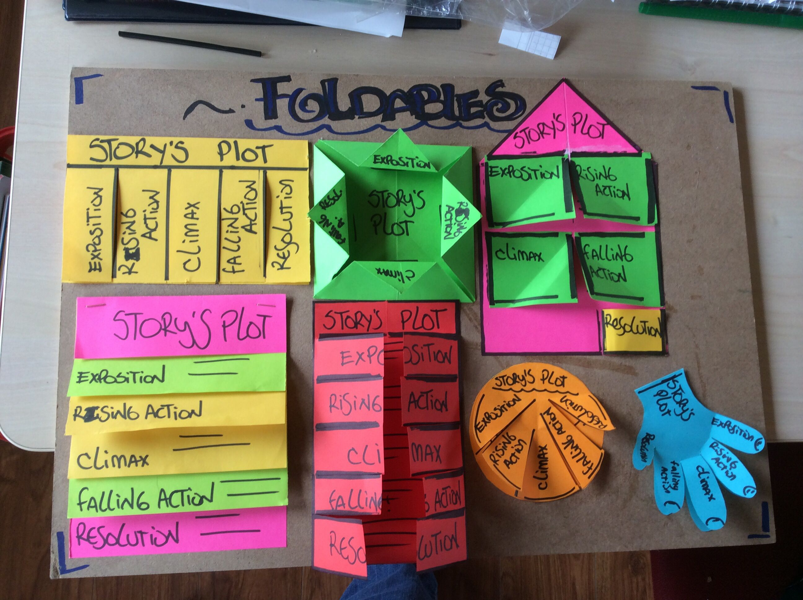 Use Foldables To Teach Your Students The Elements Of The