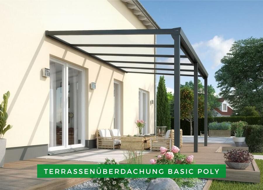 Alu Terrassenüberdachung Basic Poly In 2020