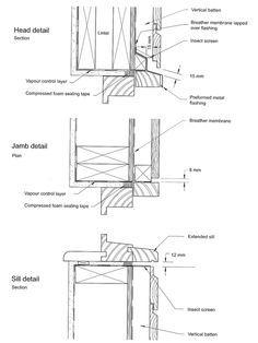 Wood siding window details detail pinterest wood for Section window design