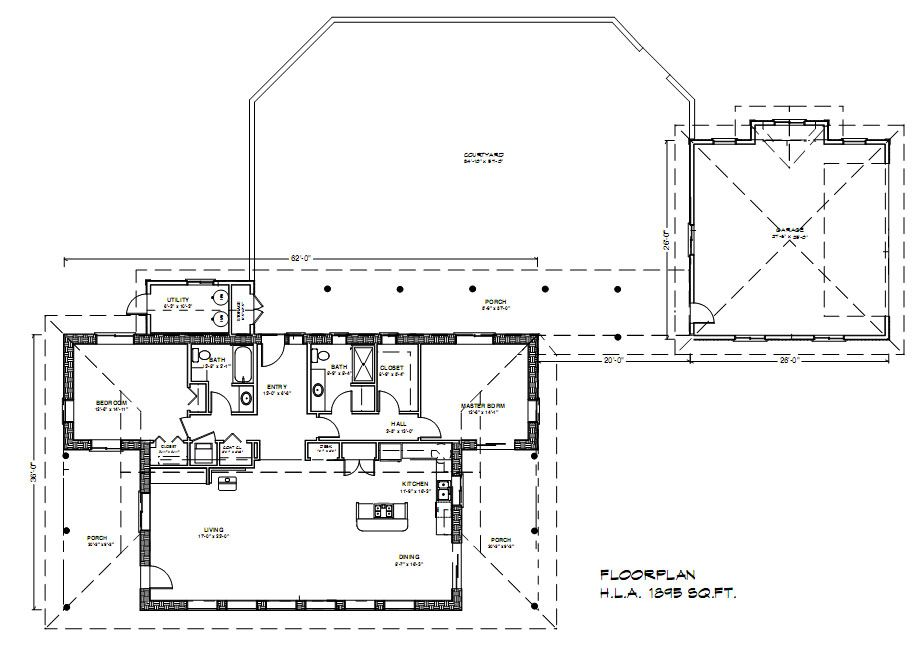 Casa del Sol 1900 Plan