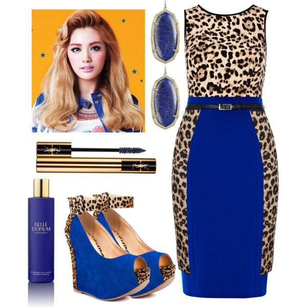 Featuring Rox Ee - Cobalt Leopard Luichiny