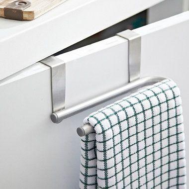 Over-Cabinet+Towel+Bar - from Lakeland lakeland Pinterest - handtuchhalter küche ausziehbar edelstahl