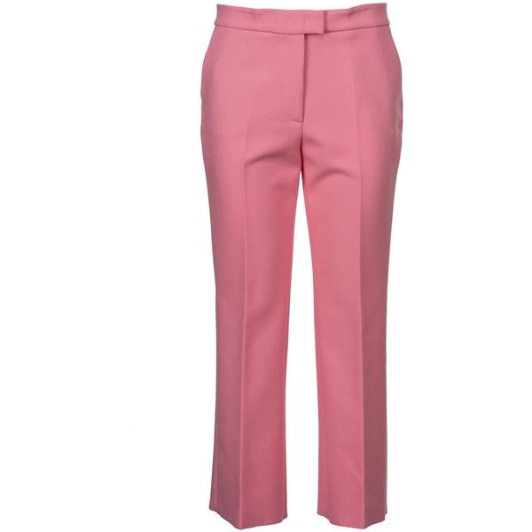 cropped flare trousers - Pink & Purple Msgm ugZNTer8h