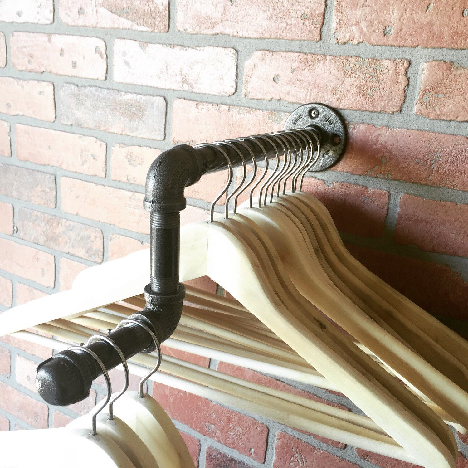 Elbowed Clothing Rack Great For Retail Displays