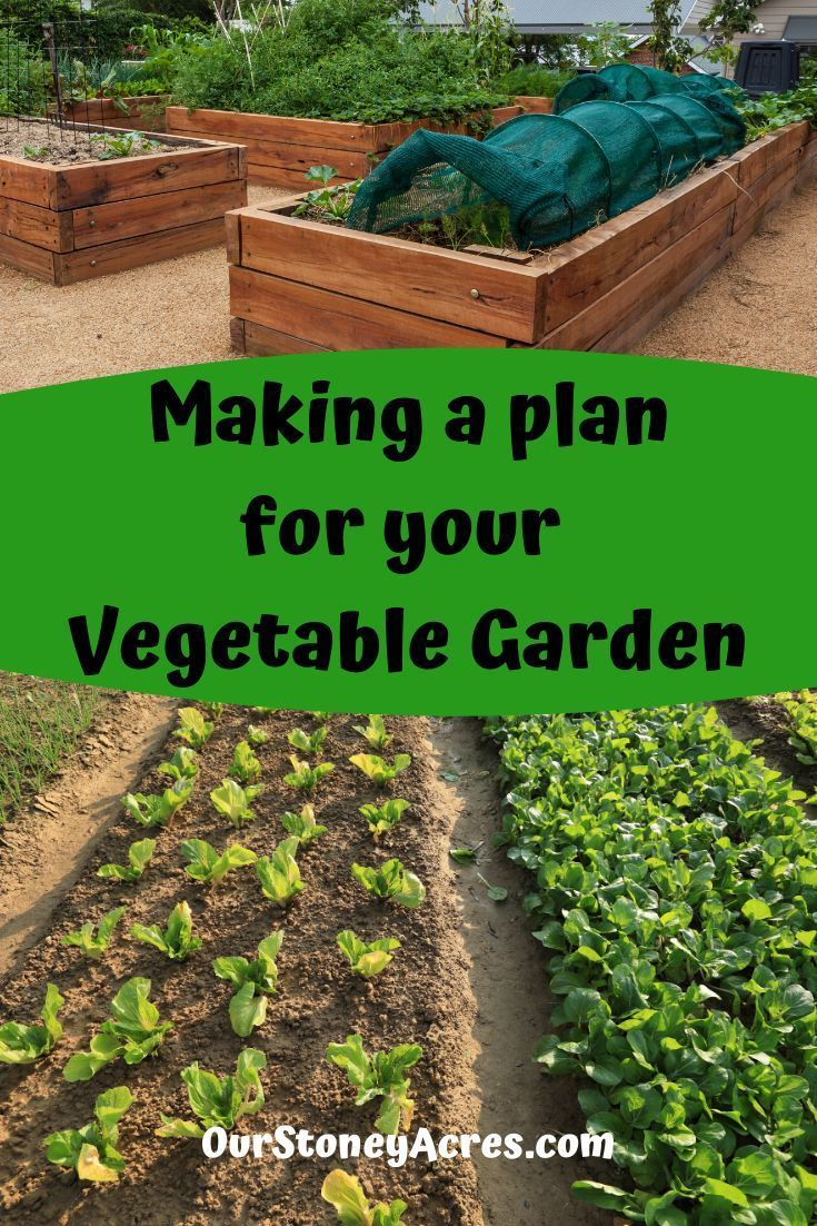 Planning your garden is an important step that many gardeners neglect. Get yourself some paper, make a map, and plan out your garden this year. #gardening #vegetablegardening #backyardgardening