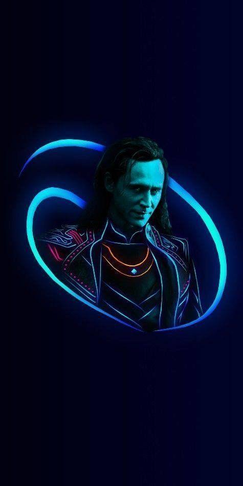Loki Neon Marvel Wallpapers Loki Marvel Loki Wallpaper Marvel Avengers