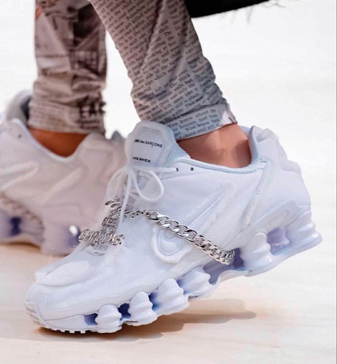 Nike Shox TL Comme des Garcons White (W