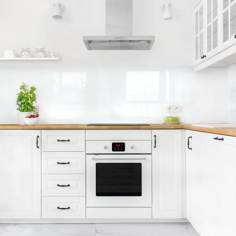 Kuchenruckwand Weiss Hartkunststoff Klebefolie Kuche