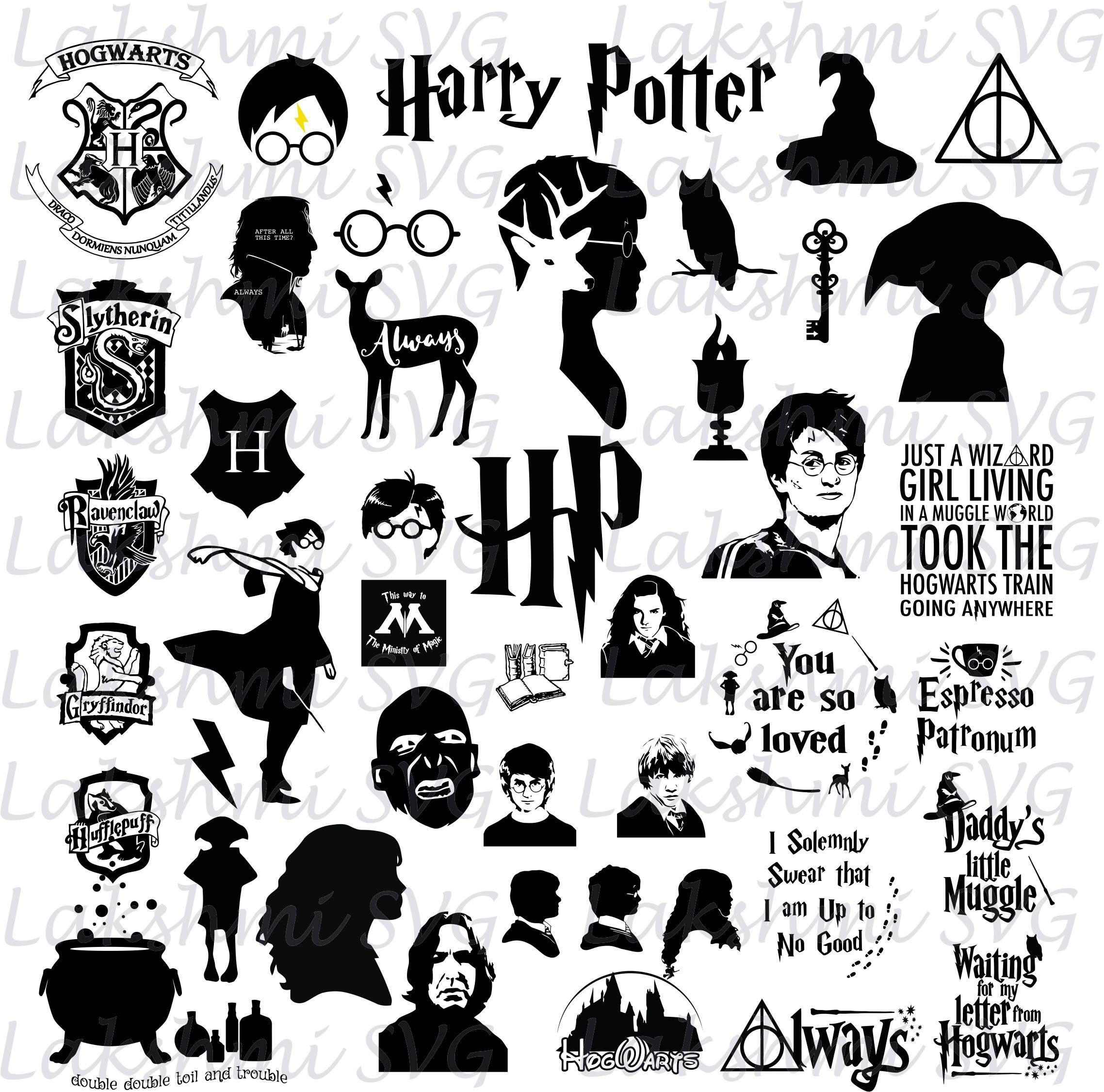 Download Image result for harry potter svg (With images) | Harry ...