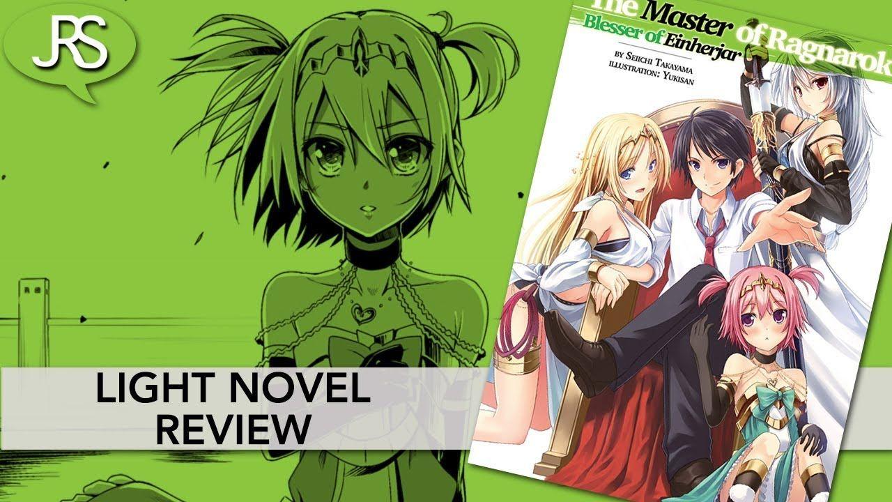 Pin On Light Novel Video Reviews
