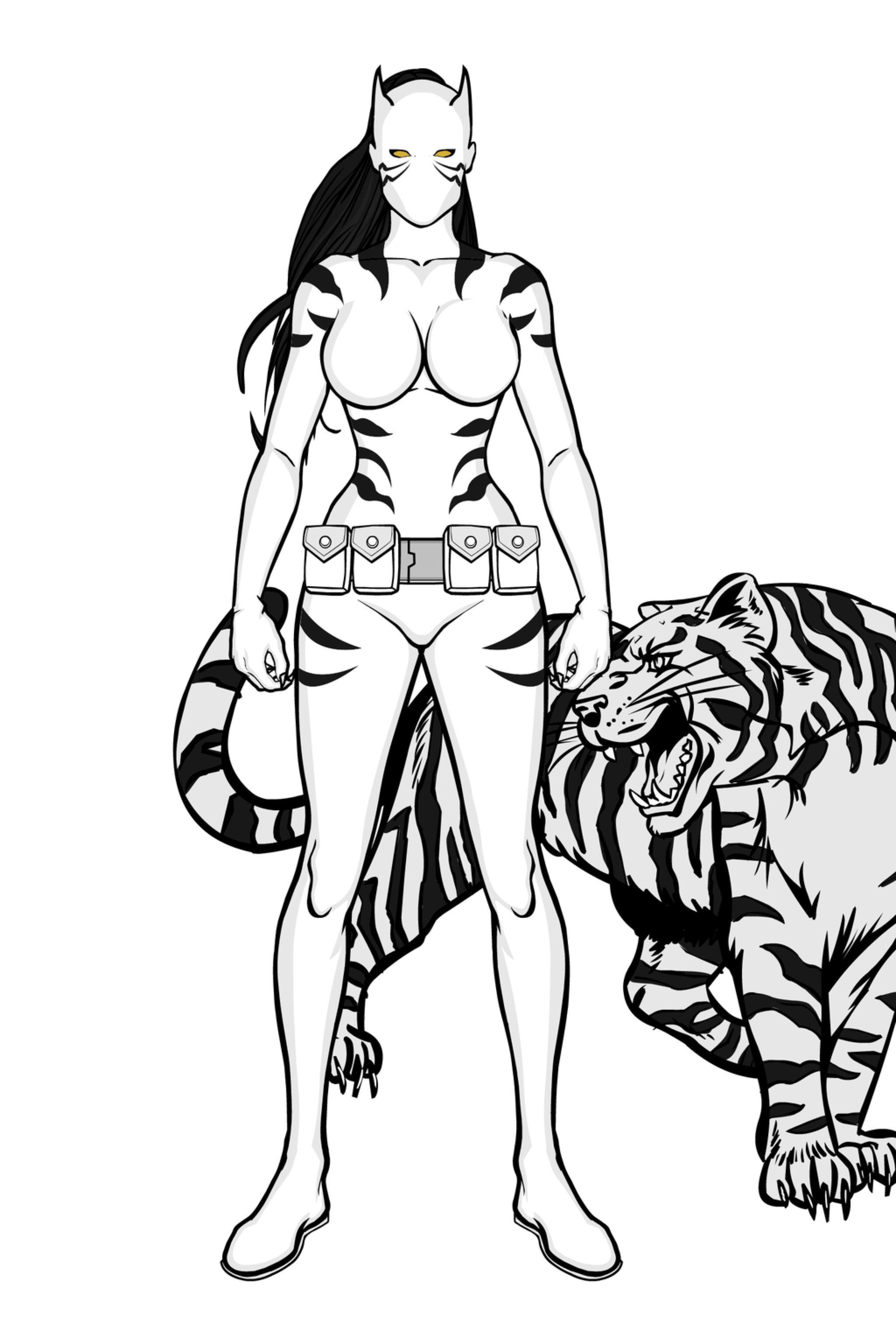 картинки белая тигрица из человека научно-образовательного