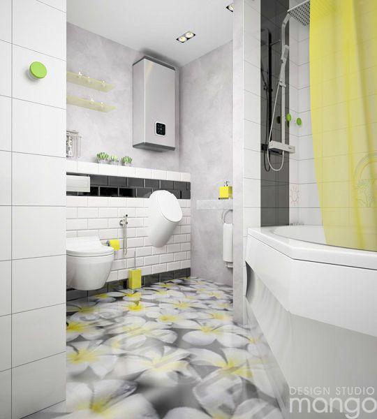 Kreative Möglichkeit, Ihre Kleinen Badezimmer Design Ideen Mit Trendigen  Backsplash Dekor Zu Arrangieren #