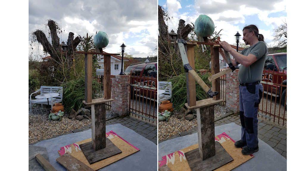 Der Weg Zum Eigenen Gartenwachter Egarden Halloween Deko Garten Selber Machen Garten Garten
