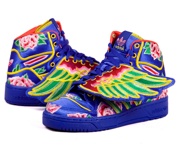 cd79e38f5318 ADIDAS JEREMY SCOTT JS WINGS CNY EASON CHAN GOLDRAINBOW  450.00 ...