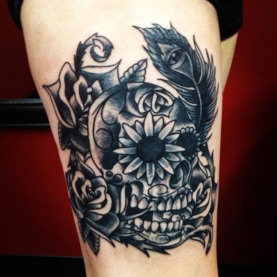 On the leg tattoo ud badass tattoo uc pinterest leg tattoos