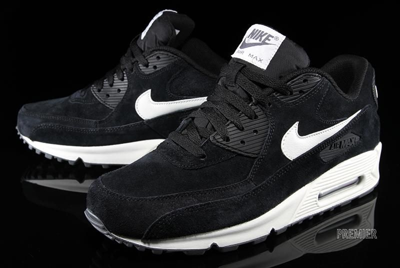 nike air max 90 hyperfuse premium suede pack black&white house
