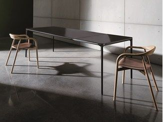 Extending Glass And Aluminium Table Slim Extensible Sovet Italia Dining Table Extendable Dining Table Ceramic Table