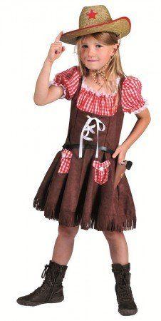 795d1e4003caf9 Mit diesem süßen Cowgirl Kostüm für Mädchen fühlt man sich wie im Wilden  Westen!