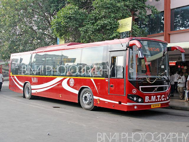 Volvo City Bus From Bmtc Bangalore India Bus Body Graphics