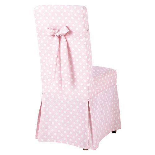 Housse De Chaise Enfant A Pois Margaux Housse De Chaise Chaise Enfant Housses