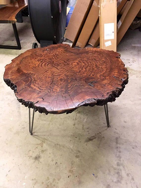 Your Custom Listing Amazing Live Edge Walnut Burl Coffee Table Muebles Pinterest Wood And