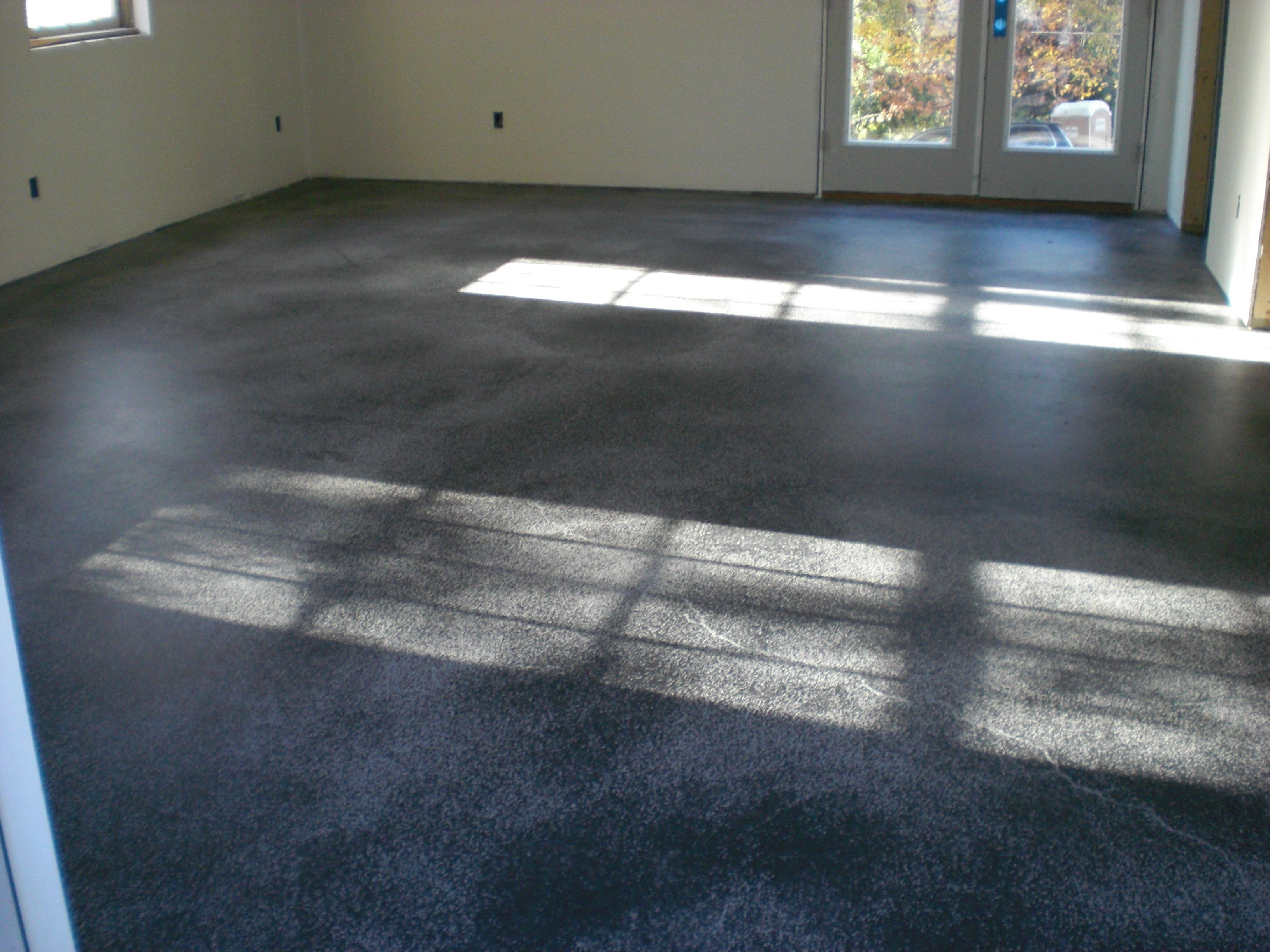 Distressed Dark Charcoal Floor ConcreteRepairSpecialist.com ...