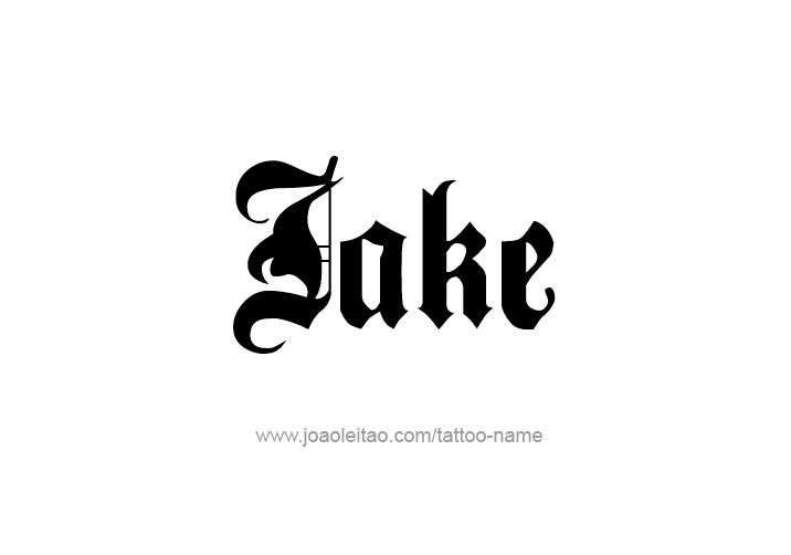 Jake Name Tattoo Designs | Tattoo name | Name tattoo designs