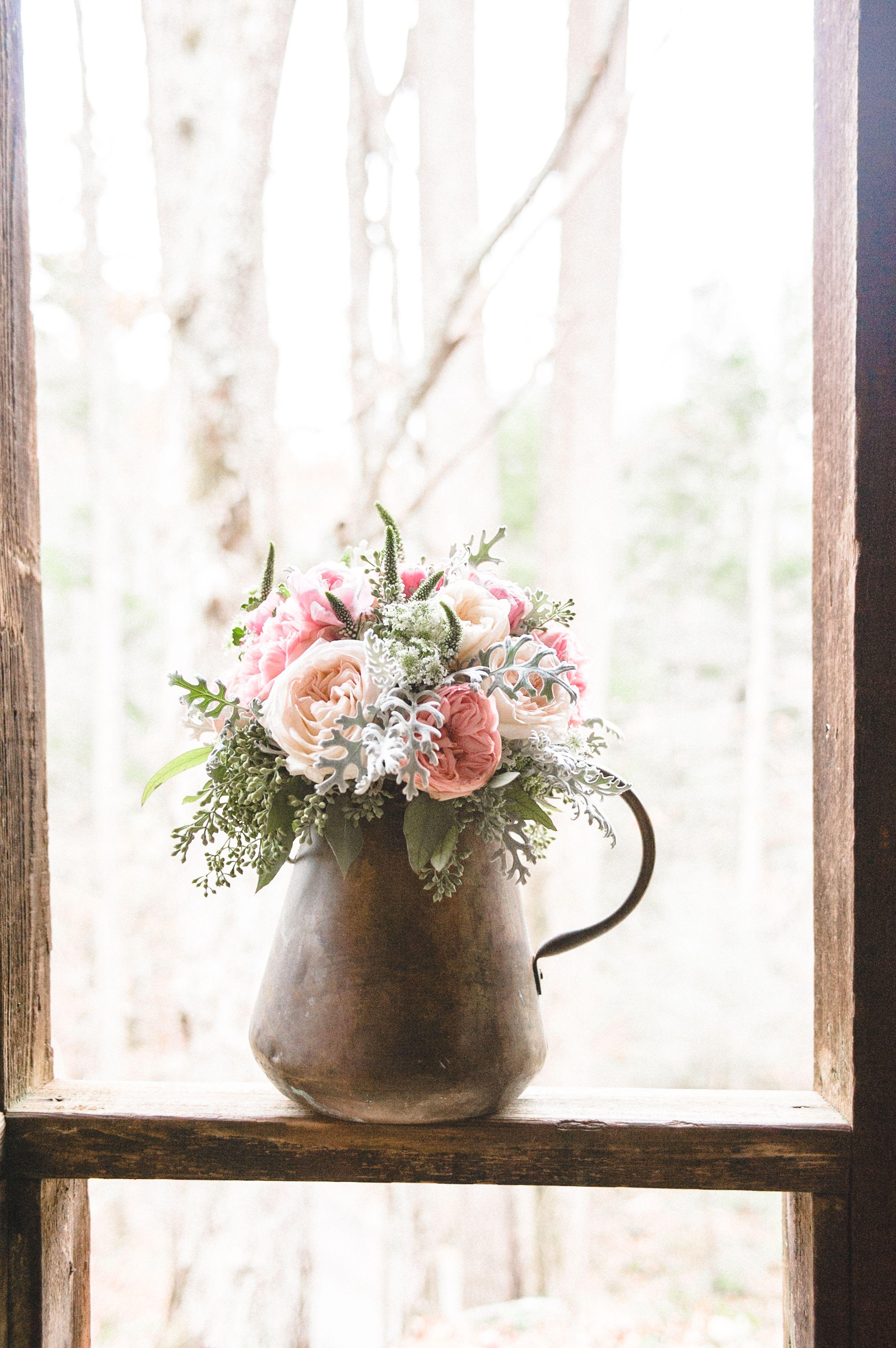 Blush Wedding Ideas - Vintage Wedding Inspiration - Garden Roses ...