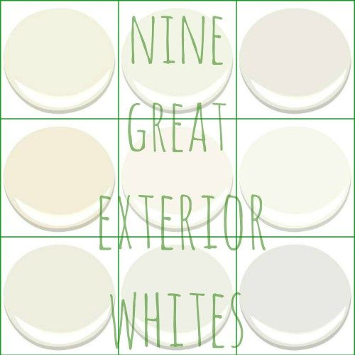 FARM HOUSE WHITE – GREAT EXTERIOR WHITES