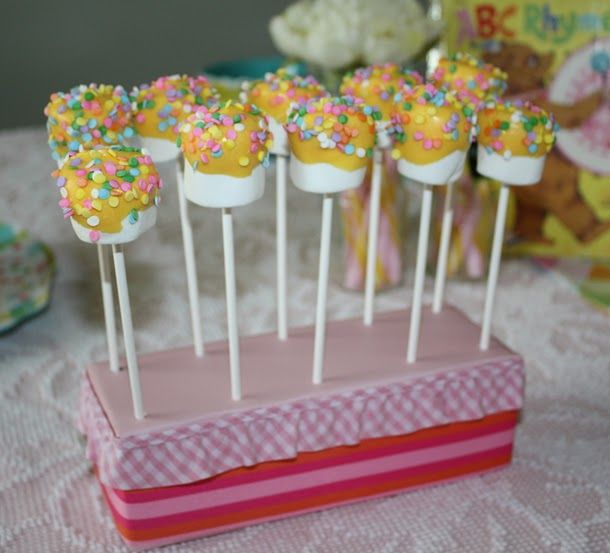 Buddies Trifle Recipe Marshmallow Pops Stand Diy Cake Pop