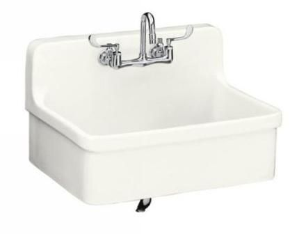 Wall Mount Laundry Sink