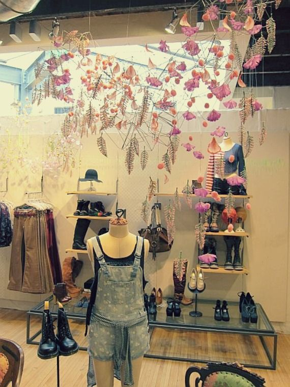 6407516d4 Spring Store Displays | boutique | Store displays, Store window ...