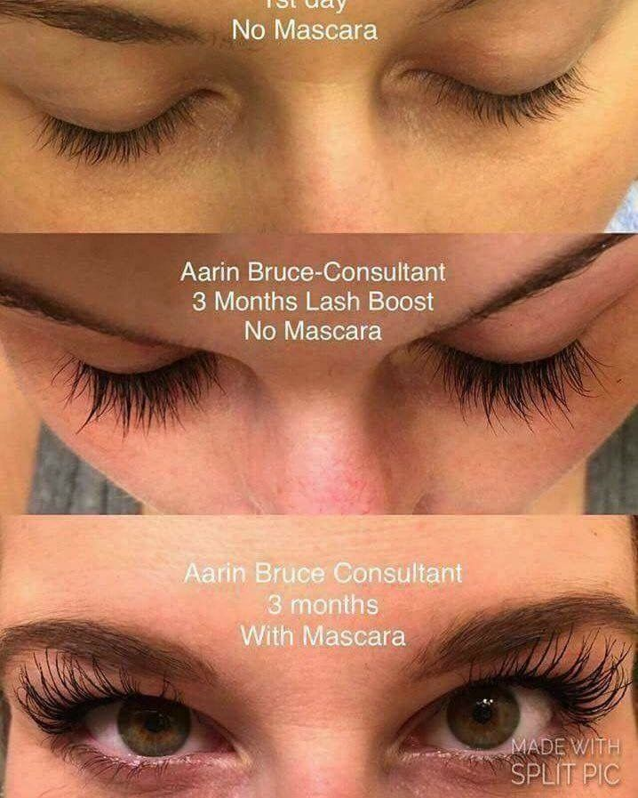 1cb6ea4ae13 PM: Nightly regimen, one swipe of Lash Boost on your lash line, go to  sleep. AM: Wake up, look in the mirror. ➡ RESULT: BOMB lashes as early as 4  weeks!